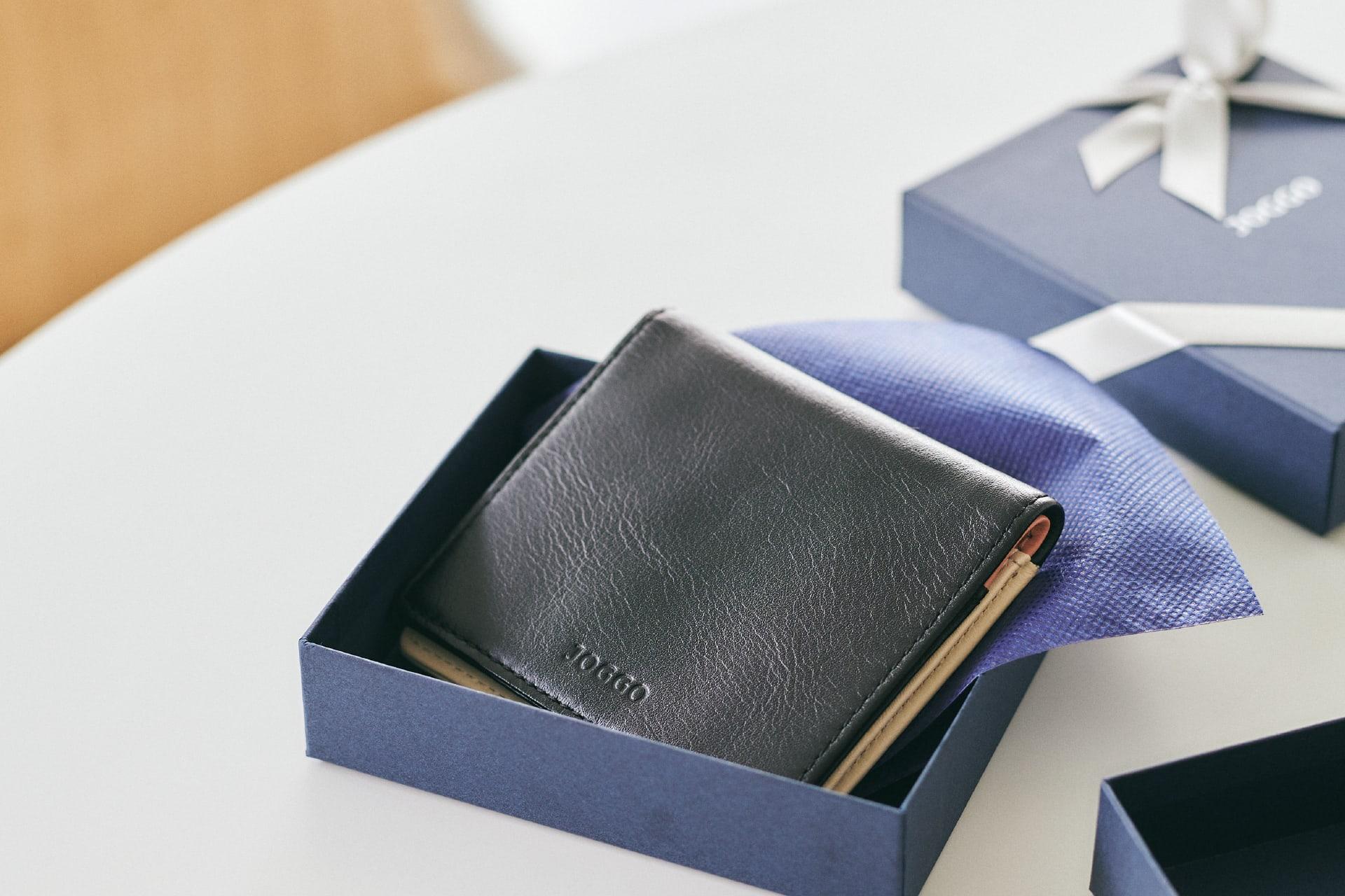 新商品「二つ折りミニ財布」究極の薄さを実現したミニウォレット発売 image01