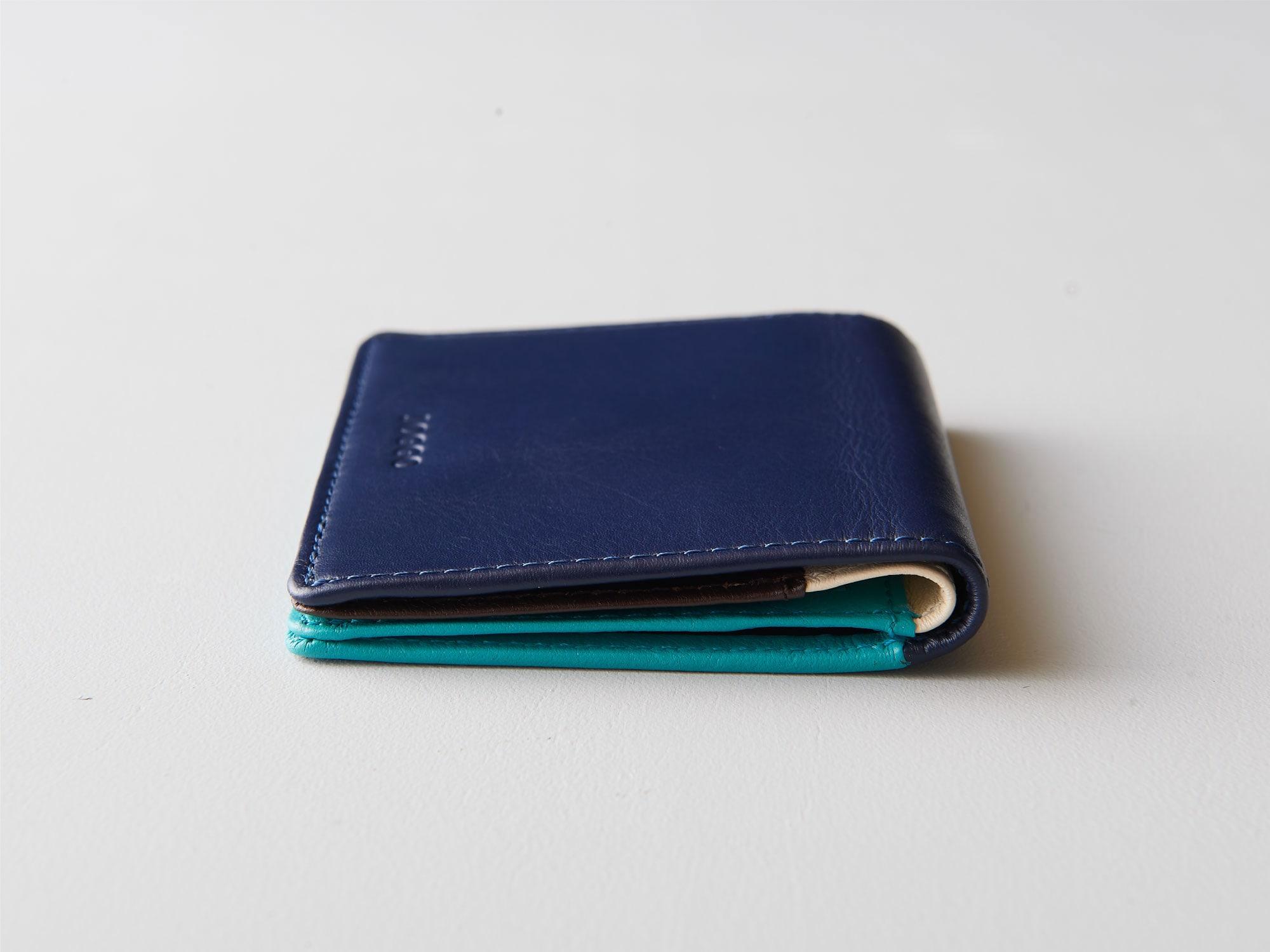 新商品「二つ折りミニ財布」究極の薄さを実現したミニウォレット発売 image02