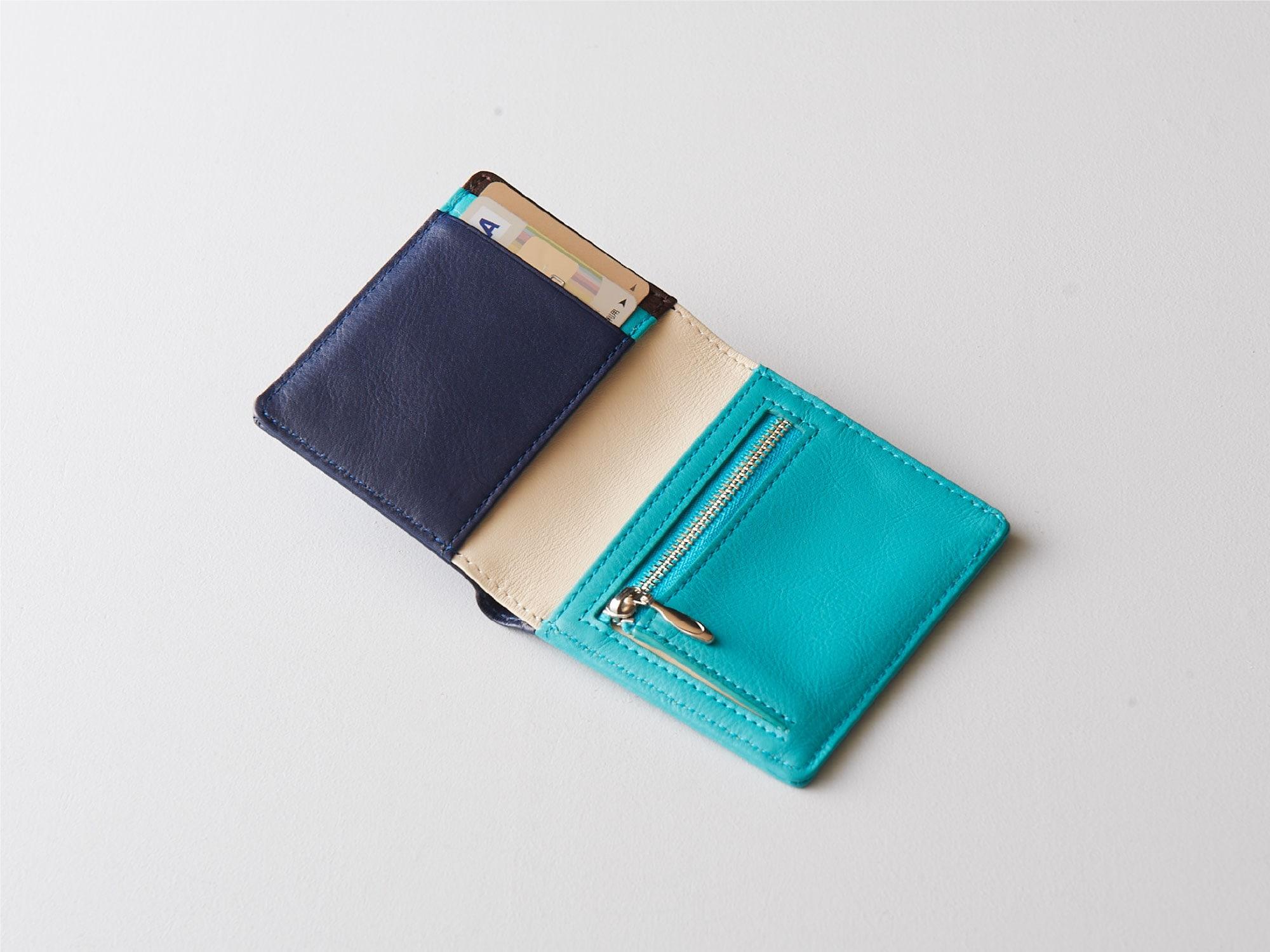 新商品「二つ折りミニ財布」究極の薄さを実現したミニウォレット発売 image05