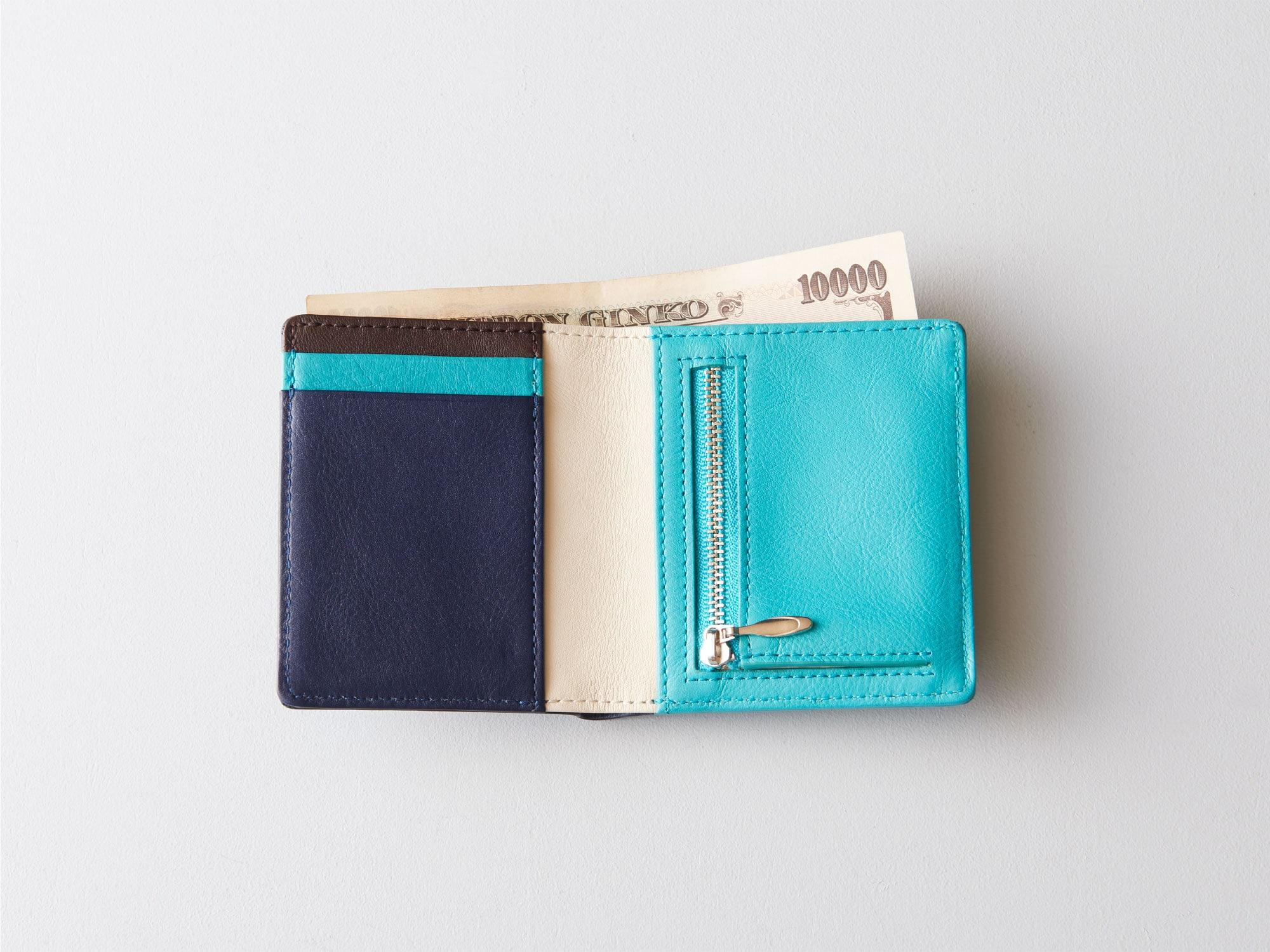新商品「二つ折りミニ財布」究極の薄さを実現したミニウォレット発売 image09