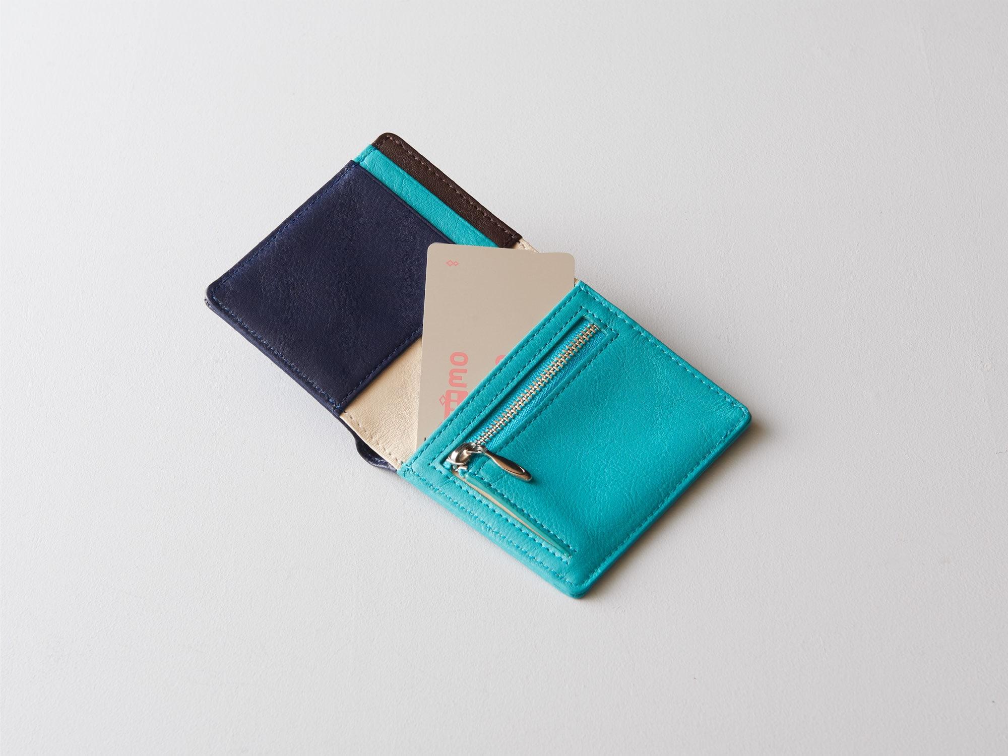 新商品「二つ折りミニ財布」究極の薄さを実現したミニウォレット発売 image07